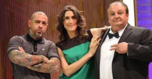 Henrique Fogaça, Paola Carosella e Erick Jacquin